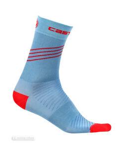Castelli ALTA W Womens Cycling Socks : RIVIERA BLUE One Pair