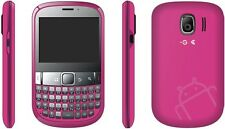 "ZTE T60 Qwerty Touch Pink 2.6"" Screen 2MP Camera Android 2.3 3G/ Next G"