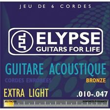 Elypse - Cordes pour guitare folk - AS-461C - extralight - 10 47