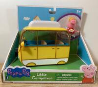 Peppa Pig LITTLE Campervan with Peppa Jazwares New NIB