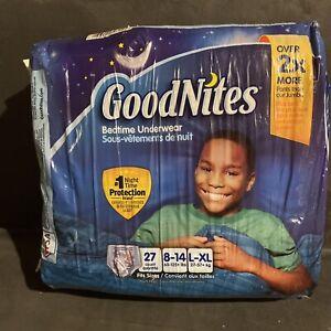 GoodNites Nighttime Underwear Size L-XL New Pack Of 27
