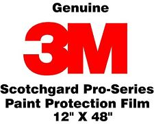 "3M Scotchgard Pro Series Paint Protection Film Clear Bra Bulk Roll 12"" x 48"""