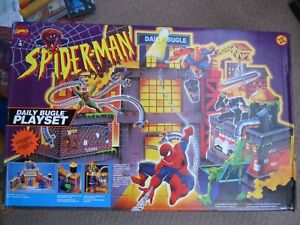 "Spider-Man - Daily Bugle Playset for 6"" Figures (Toy Biz 1995)"