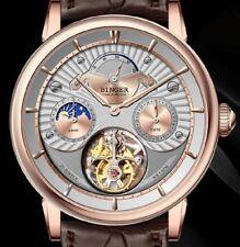 Binger, Top-Qualität, Seagull, Tourbillon, mechanische Uhr, Krokodillederband