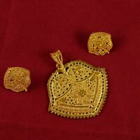 New Traditional Necklace Pendant 18k Micron Women Bollywood Goldplated  Jewelry