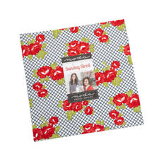 """Moda Sunday Stroll Layer Cake Fabric Bonnie & Camille 42 10"""" Quilting Squares"""