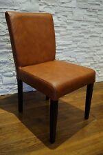 Breite Stühle Echtleder Stuhl 100% Echt Leder Stühle Esszimmer Lederstühle