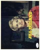 Jill Ireland Hand Signed Jsa Coa 8x10 Photo Autograph Authentic