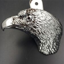 "Chrome Eagle head horn cover 1992 and up with side mount ""cowbell"" all V-rod's"