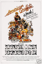 American Graffiti cult movie poster print