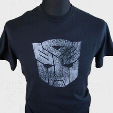 TRANSFORMERS AUTOBOT Camiseta Superhéroe Retro