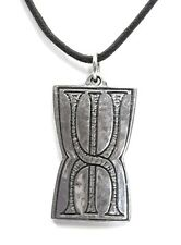 Prosperity Rune Stone Talisman Amulet Finding Wealth Unisex Necklace PTL-108