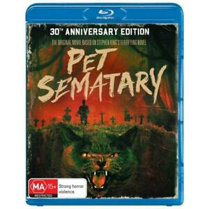 Pet Sematary Blu-Ray **Region B**