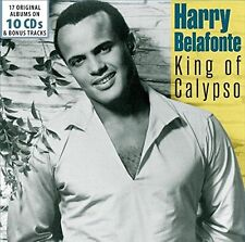 Harry Belafonte - King of Calypso  17 Original Albums and Bonus Tracks [CD]