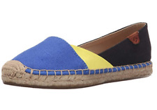 Sperry Katama Cape Color Block Womens STS94559 Blue Yellow Slip On Shoes Sz 8.5M