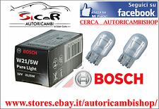 COPPIA LAMPADINE LUCE DIURNA E POSIZIONE FIAT 500C 21/5W W3X16Q  1987302252
