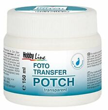 KREUL Foto Transfer POTCH 150 ml Übertragen von Fotos transparent seidenglänzend