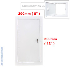 Access Panel Fit Hole 200 x 300 mm  White Inspection Hatch Door With Pull Handle