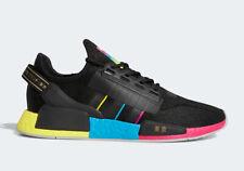 Adidas NMD R1 V2 Mens Running Shoes Black Rainbow FY1251