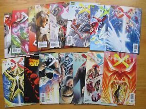 PARADISE X Complete 0-12 + Extras (Marvel) ALEX ROSS * X-Men * Spider-Man * 2002