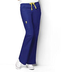 Wonder Wink Romeo Flare Leg Nurses REGULAR Scrub Pants 5026 Wonder Wink ~NEW~