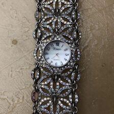 Xanadu Stainless Steel Back Mineral Crystal Fashion Watch
