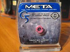 "G5 Meta Hunter Peep Sight 3/16"" Id Ultra Light Weight / Pink 259"