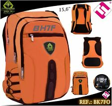 BACKPACK GAMING KEEP OUT 15,6 NYLON ORANGE FLUORESCENT BK7FO QUALITY
