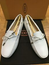 TOD'S City Gommino textured-leather loafers UK7/EU40 RRP£340