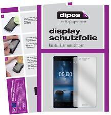 2x Nokia 8 protectoras TRANSPARENTES para protector de pantalla Lámina display protección dipos