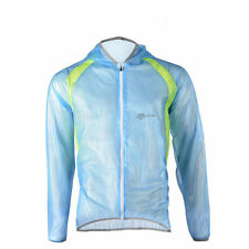 RockBros Bicycle Jersey Jacket Cycling Bike Water Resistant Coat Blue Size XL