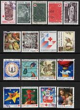 France - Lot Timbres Croix Rouge - Oblitérés - Set of stamps - used -