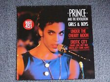 "PRINCE - Girls & boys / Under the cherry moon / Erotic city - 12"" / MAXI 45T"