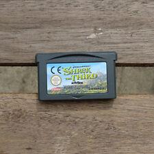 Shrek der Dritte GameBoy Advance Nintendo GBA the Third DS Lite AGB-B3HP-EUR