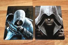Assassin's Creed Ezio Trilogie Rare Steelbook Size G1 DAMAGED PLEASE READ