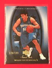 2005-06 UD Sweet Shot #57 Wally Szczerbiak #/199 Timberwolves - FREE SHIP 🏀