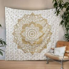 IndianTapestry Mandala Bedding bedspread hippie Wall Hanging Beach Sheet Throw