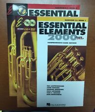 Essential Elements 2000 Band Method Baritone T.C. Book 1 & 2 with CD