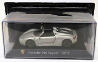 Altaya 1/43 Scale AL12319L - 2013 Porsche 918 Spyder - Silver