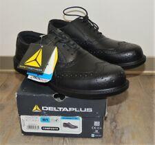 Delta Plus RICHMOND S1 SRC Smart Workwear Black Brogue Shoes - UK 7