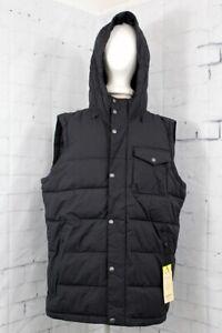 New Men's Burton Traverse Extra Large Vest XL True Black