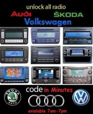 30 min fast VW radio unlock code decode for RCD310 RCD510 RNS300 RNS310 RNS315