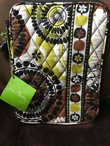 VERA BRADLEY E-Reader Sleeve COCOA MOSS New With Tags, Retired