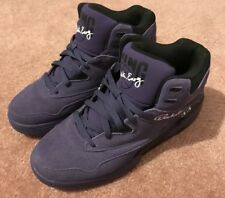 Patrick Ewing purple high top shoes 33 EUC size 10.5