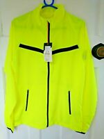 Mens Pro Touch Tobago II UX Running Jacket Yellow Sizes S-L Full Zip Lightweight