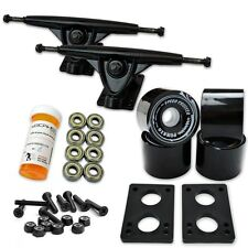 HD7 Longboard Combo set - Black trucks (Solid Black)