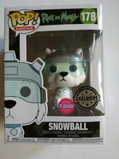 Figurine Funko POP! Animation Rick and Morty 178 Snowball Flocked Exclusive