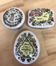 Songs of Love Music Box Collection Set Of 3