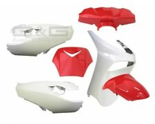 Accessoire De Déguisement Kit 6 Parties carénage en rouge-blanc Peugeot Vivacity