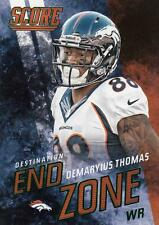 2014 Score Destination End Zone Green #DE8 Demaryius Thomas Broncos